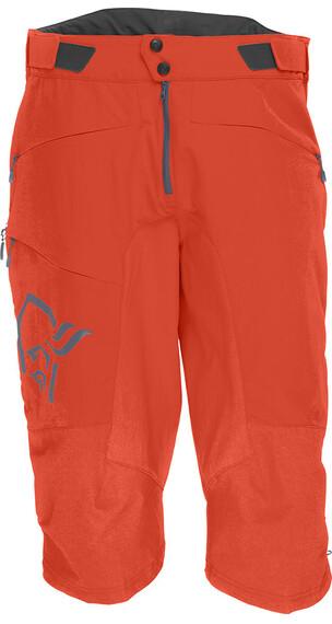 Norrøna fjørå flex1 - Cuissard court Homme - orange